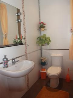 Spare Bathroom with shower