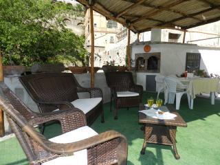 Casa Chiara with terrace and garden in Amalfi town
