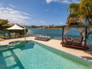 Broadbeach Waterfront  Luxury Beach house - voted best family holiday house 2017