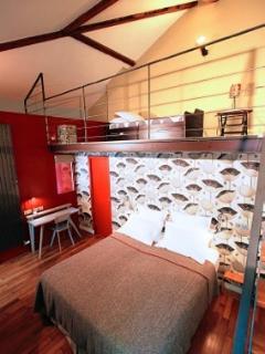 Chambre + mezzanine