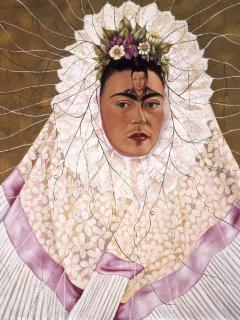 Frida Kahlo and Diego Rivera in the exhibition at the Palazzo Ducale