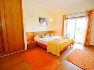 Master bedroom. Great balcony with seating and views over Albufeira.