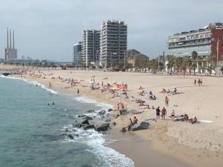 Badalona Playa y Barcelona Ciudad