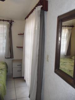 The door to the terrace in Master Bedroom