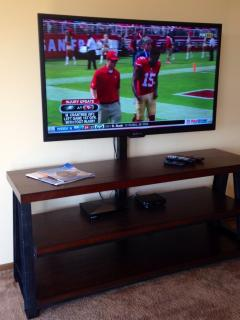 50' HD Flat Screen TV Upstairs