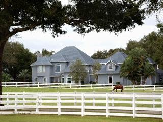 Luxury 8 Bedroom Great House on Equestrian Resort, Ocala