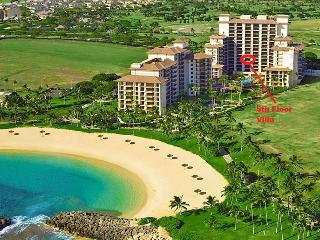 Ko Olina Beach Villas - 5th floor Ocean Tower, 2 Bedroom with Pool & Ocean View