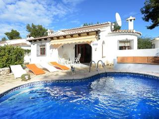 VILLA HAMOR: 800m to sandbeach and restaurants, Moraira