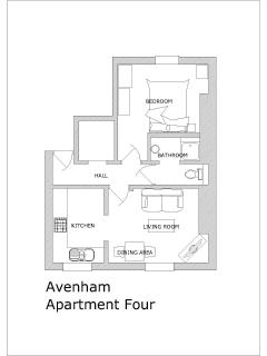 Avenham Apartment Four - Floor Plan