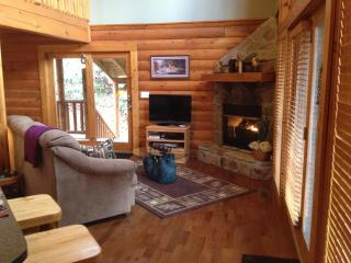 Amethyst Mist Log Cabin Gatlinburg* Taking reservations. No damage to this cabin