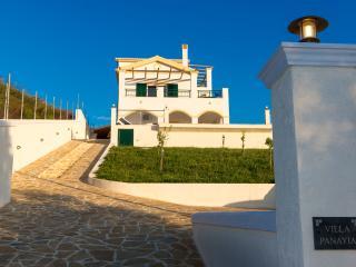 Villa Panayia's commanding position.