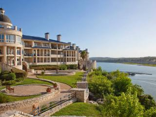One bedroom Villa at the Island on Lake Travis.