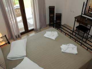 apartment's double bed