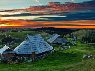 Velika planina - magic chalet Zlatica, Kamnik