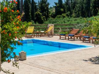 Villa Azzurra swimming pool area