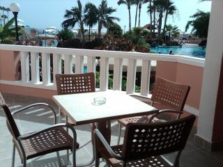Pool and sea view apartment in Playa Fanabe, Adeje, Tenerife