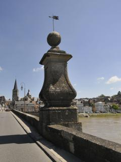 View of La Charité-sur-Loire from bridge