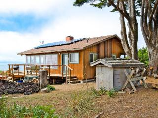 Gorgeous, dog-friendly, oceanfront home w/private hot tub & spectacular views, Albion