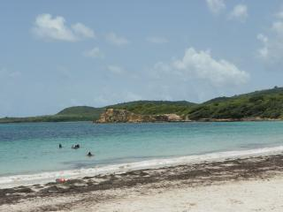 Duplex au Vauclin bordure de mer de sable blanc