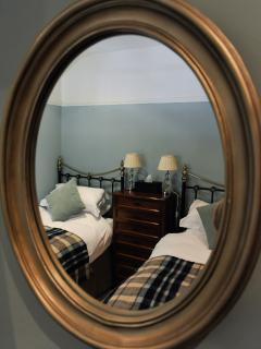 The Cnicht Room - can also be made up as one king-size bed