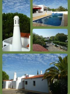 Roof terrace ,swimming pool, driveway and entrance 'Casa Camellia'.