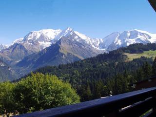 O'Panorama: Grande Baie vitrée face au Mont-Blanc!, Saint-Gervais-les-Bains