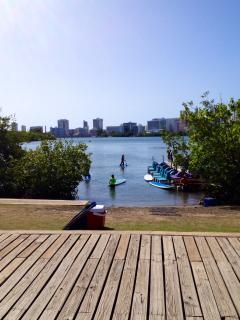 Fun at the lagoon park