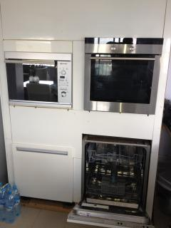 Micro wave, Oven en Dishwasher