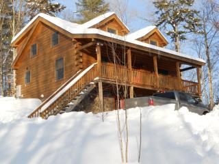 Log Cabin With All The Luxuries Of Home, Woodsville