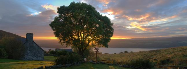 Sunrise from the conservatory (Taken by guest M. Grubb from energymonitorworld)