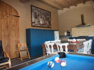 kitchen with billiards