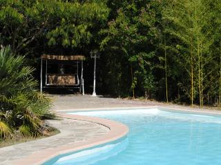 Secured Family Holidays Home with private garden & pool in a quiet area