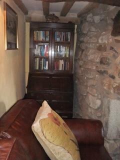 Alcove beside the inglenook