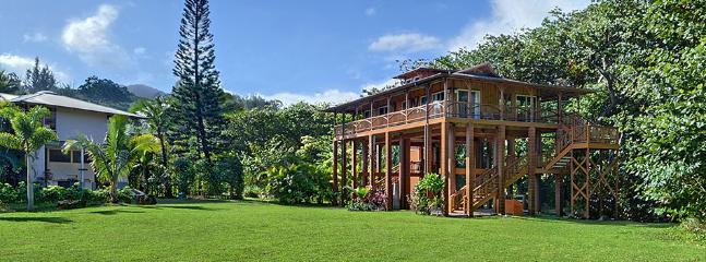 Tropical Bamboo Hideaway, Haena