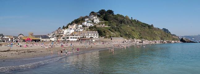 Fancy a dip? - Soft, sandy Looe beach