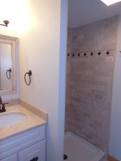 New bathroom on the main level