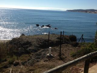 View of sea towards Gibralatar