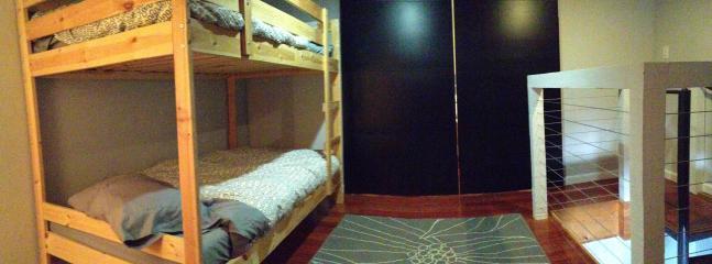 Sliding doors to Master bedroom
