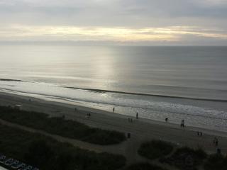 Morning sunrise from balcony