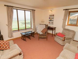 Spacious lounge with beautiful views of the Yorkshire countryside and farm animals