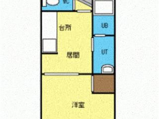 4.Cozy 1LDK for 2 ~3 + free WIFI & Parking (Entire Apartment)