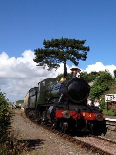 Watchet Station on the West Somerset Steam Railway