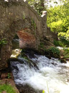 Lovers Bridge Dunster Castle Gardens