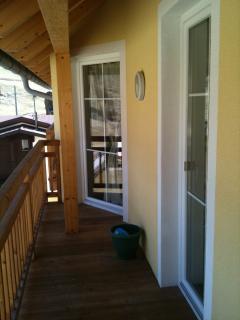 Lounge/kitchen balcony