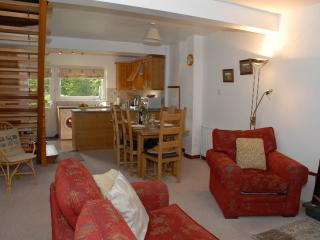 The open plan ground floor at Stybarrow Cottage .. warm, spacious and well equipped