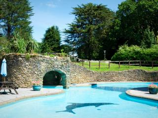 Have fun in the gorgeous heated outdoor pool