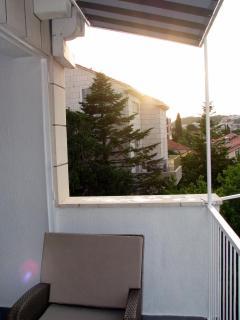 Balcony view on the neighbourhood