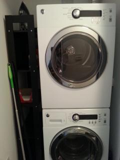 Washer and Dryer in your suite.