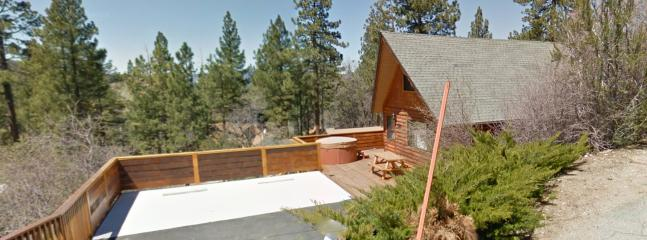 Thanks to Google car for taking such a great pic of our huge deck and parking