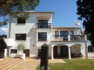 Large beach side villa in Marbella.